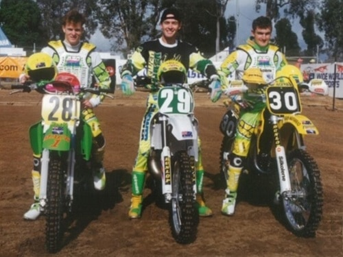 Motocross des Nations - Australian Team 1992