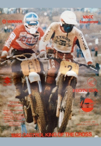 1982 Motocross Programme - King of the Cross Western Australia