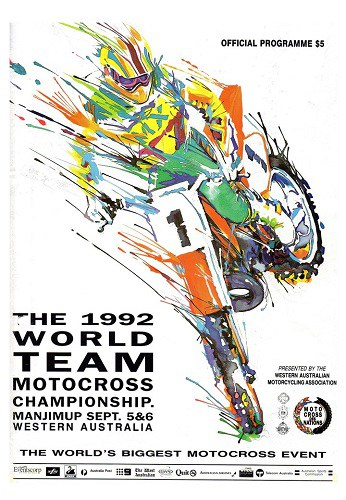 1992 World MX des Nations Programme - Manjimup Western Australia