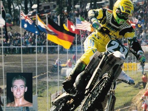 Dale Britton Australian Motocross Champion