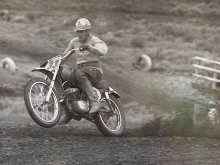 Australian Motocross Champion Ray Fisher