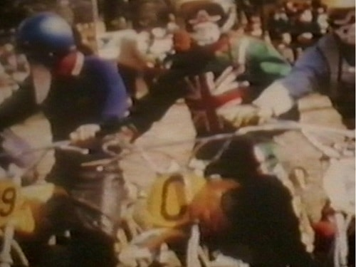 1971 International Motocross Herne Hill - Start line