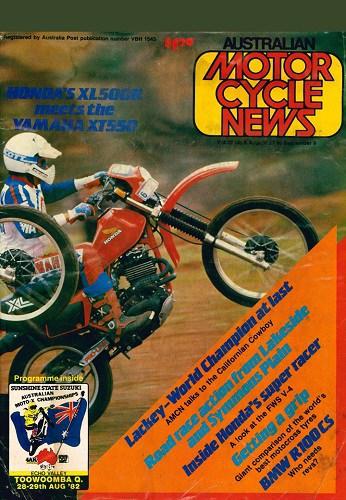 1982 Australian Motocross Championships Toowoomba Queensland