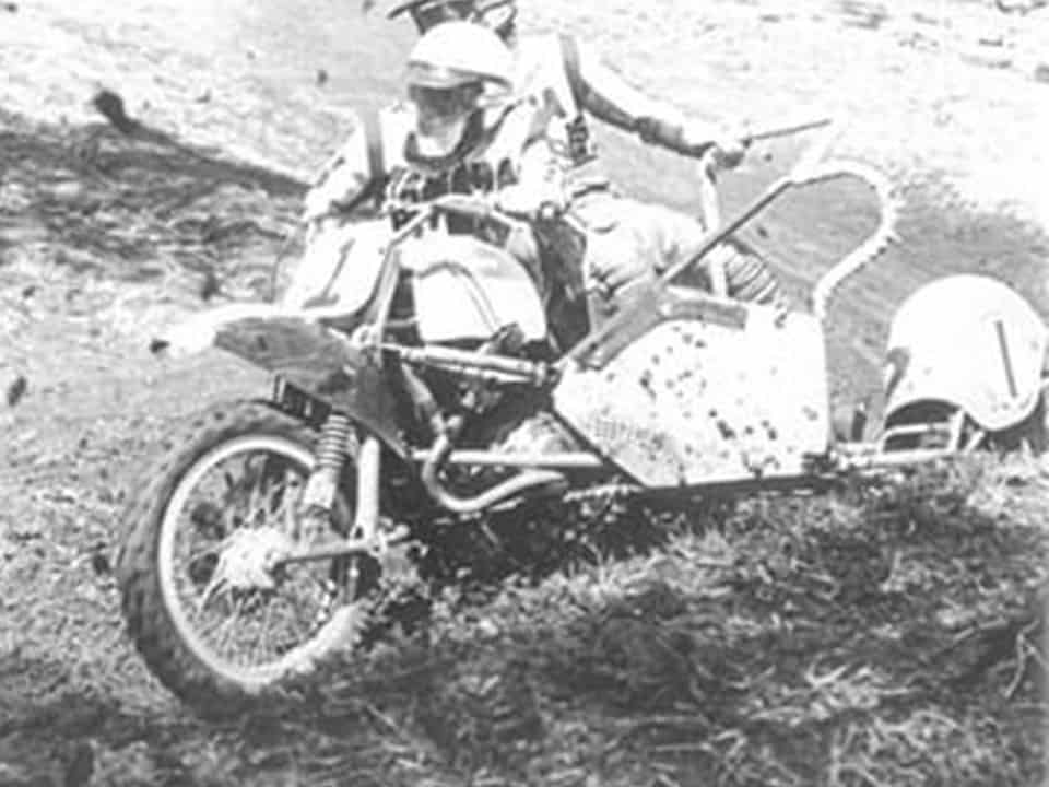 1982 Australian Motocross Championships Toowoomba - Barry Buckley and David Ahola