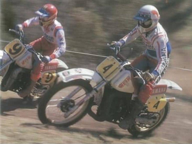 1982 Australian Motocross Championships Toowoomba - Darryl Willoughby and Jeff Leisk
