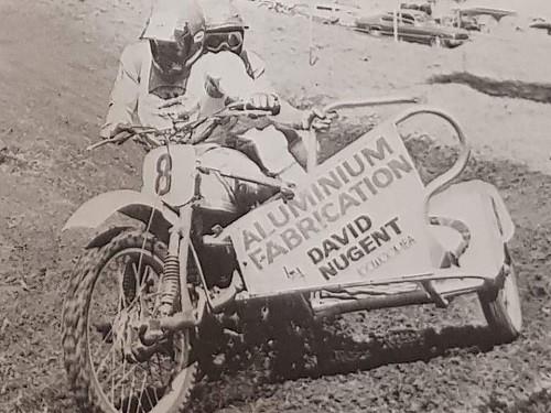 1982 Runner-up 500cc Australian Sidecar Champions Geoff Udy - Vaughn Fletcher