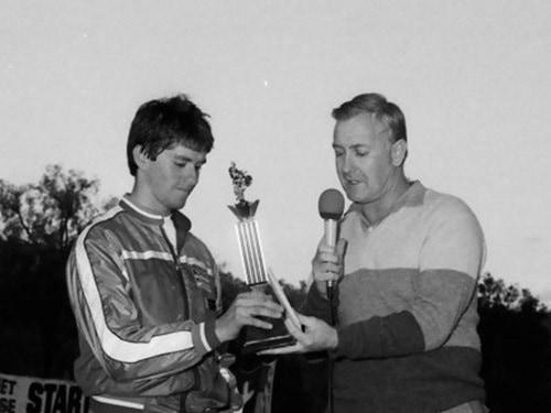 1984 Western Classic presentation Jeff Leisk