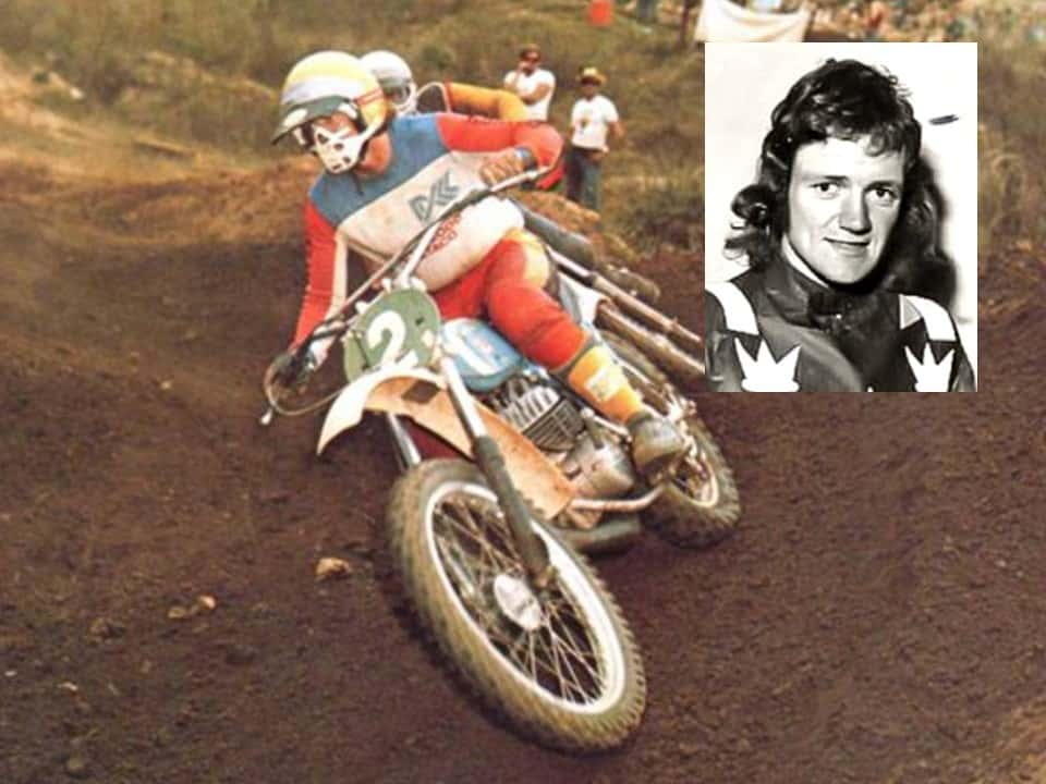 Australian Motocross legend Gary Flood