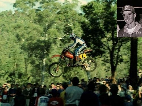 Australian Motocross Champion Jeff Leisk