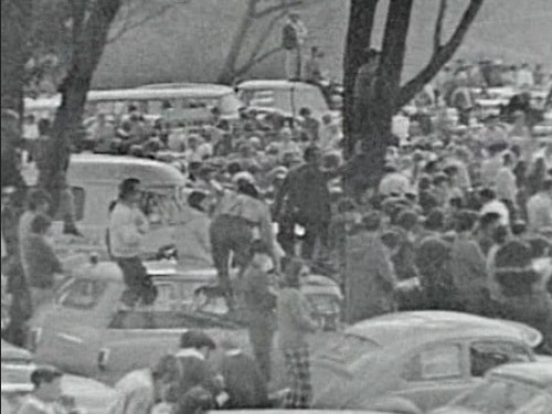 1971 Australian Championships Clarendon SA - Crowd of over 10000