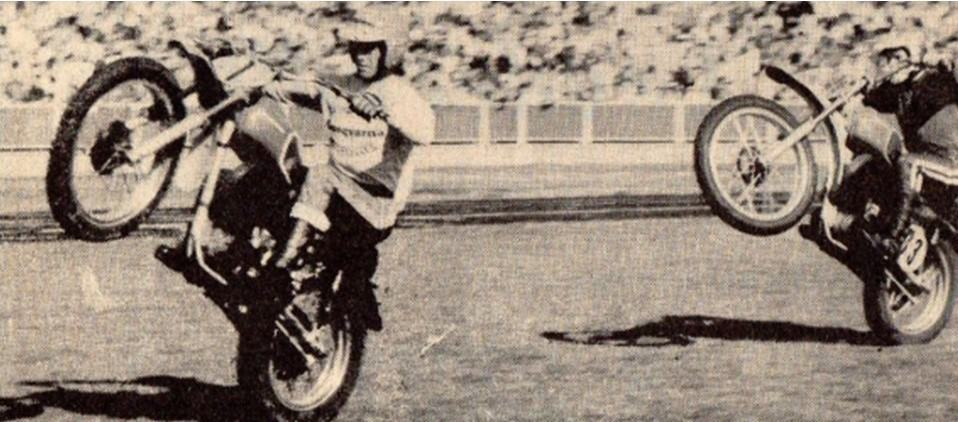 1971 International Motocross Herne Hill - Perry Lakes promotion Ivan Miller and Jimmy Aird