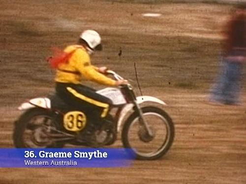 1974 Australian Motocross Championships Manjimup - Graeme Smythe