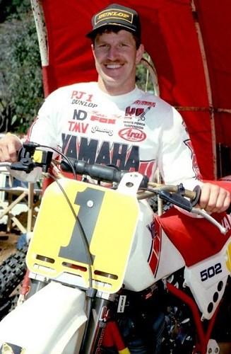 Jimmy Ellis 1985 Australian 125 and 250cc Motocross Champion