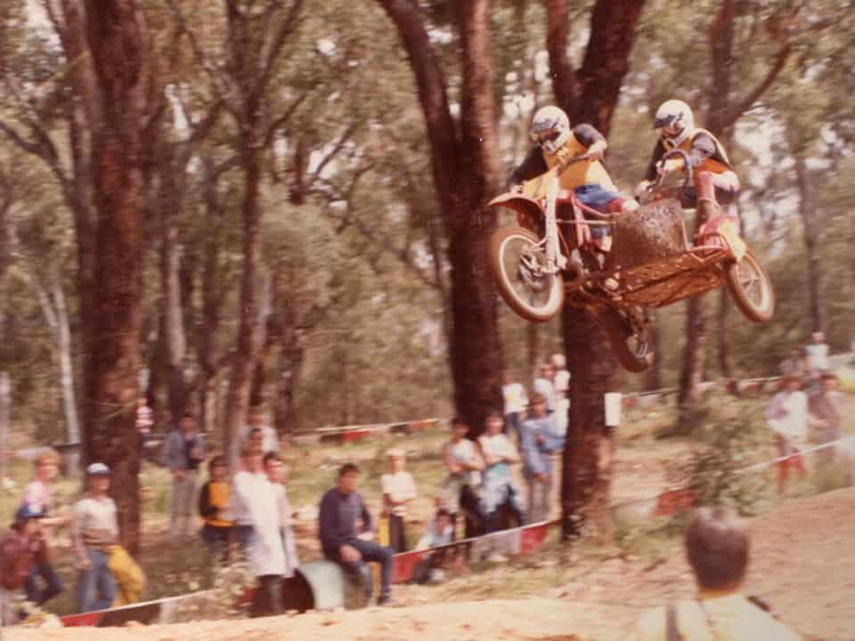 1985 Australian Championships Noble Falls - Darren Williams and Mark Kendle