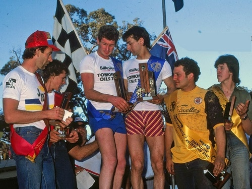1985 Australian Motocross Championships - 500cc sidecars presentation