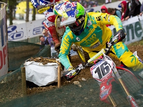 Chad Reed leads the 2011 MX des Nations in France