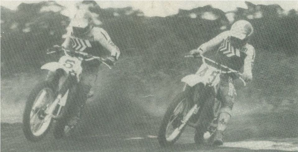 1978 Australian 125cc winners - Trevor Flood and Mike Landman