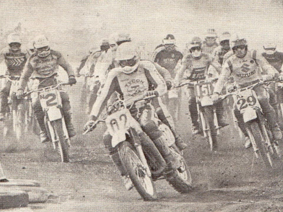 1979 Mr Motocross Graeme Smythe leads in Round 1