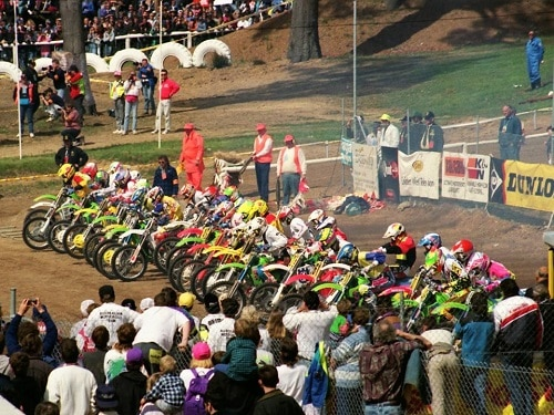 1992 Motocross Des Nations - Cosy Creek startline