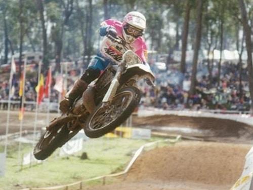 1992 Motocross Des Nations - Miroslav Kucirek Czechoslavakia Yamaha 250