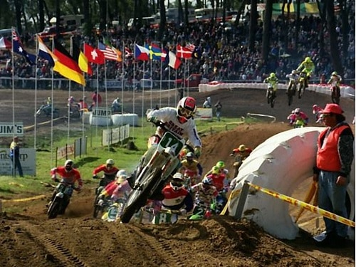 1992 Motocross Des Nations - Rob Herring Great Britain Honda 250