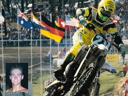 1992 Motocross Des Nations - Team Australia Dale Britton 250