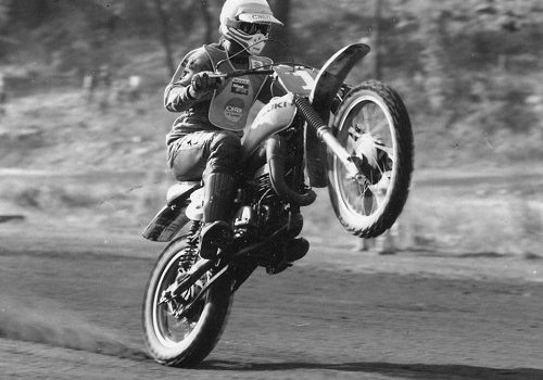 Motocross Legend Gunter
