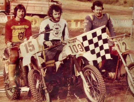 Dave Fullston, Graeme Smythe and Jack Pengelly