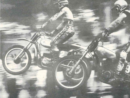 Australian Motocross Champion Gary Flood