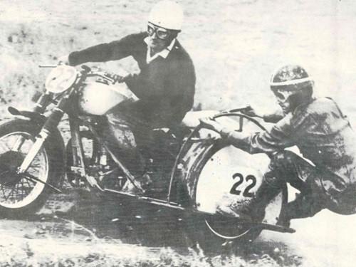 Ken Adams - Dennis Cook - two-times Australian Champion in Tasmania in 1969