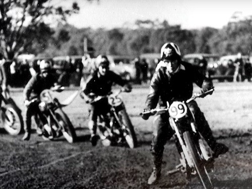 Ken Rumble Australian Motocross Champion