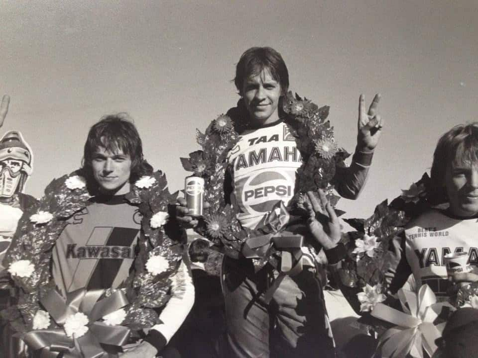 Trevor Williams - Second in Mr Motocross 1980