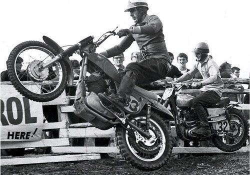 Motocross Legend Fisher