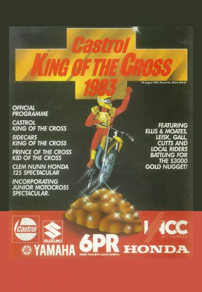 1983 King of the Cross - Programme Cover