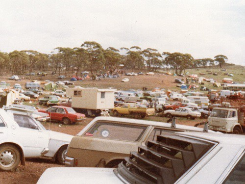 Southern Cross camping grounds