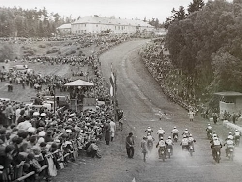 Ray Fisher - Grasstrack racing in East Germany - Teterow