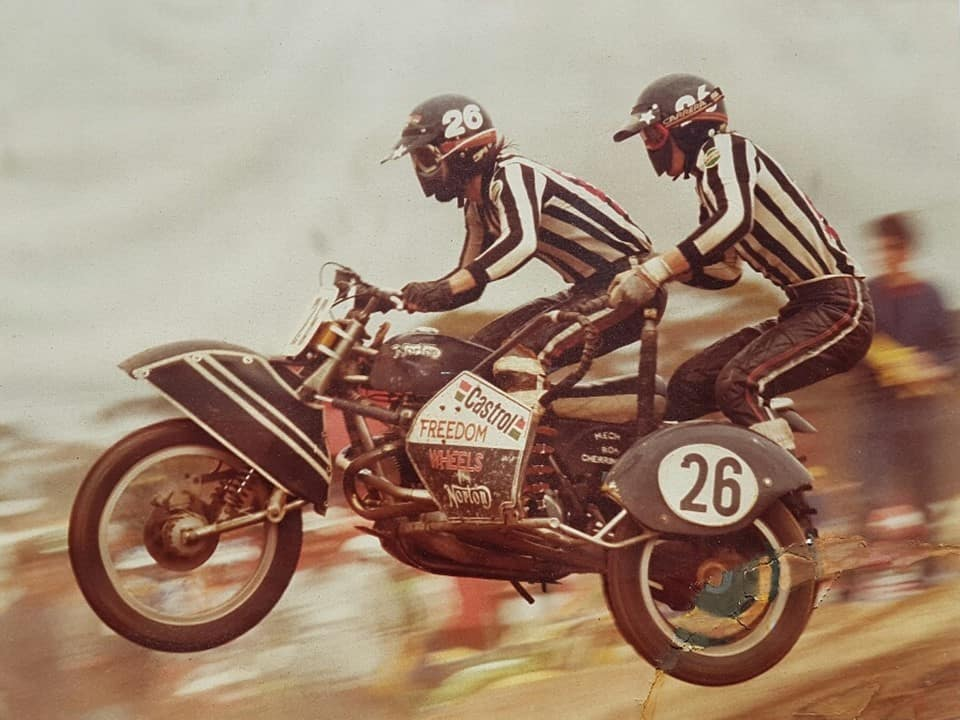 Sidecar King of the Cross Winners - Wayne and Dean Fanderlinden