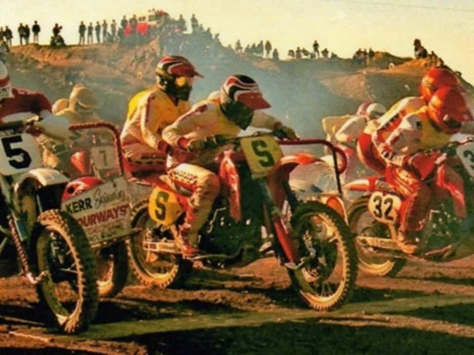Sidecar King of the Cross Winners - John Robinson and Simon Chapman